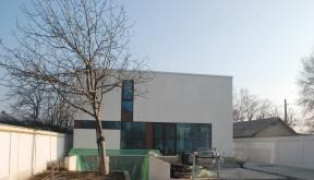 en locuinte moderne lucrare finalizata casa moderna cod caa fin alexandria teleorman proiect din portofoliul cub - Casa Cub Moderne