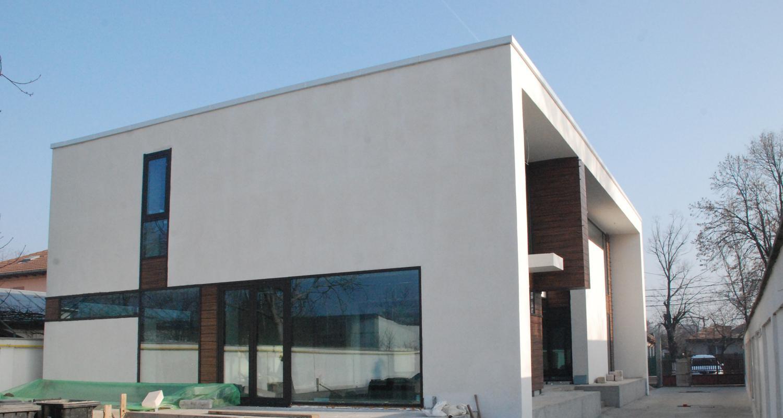 en locuinte moderne finalizate cub lucrare finalizata casa moderna minimalista cod caa fin alexandria proiect din - Casa Cub Moderne