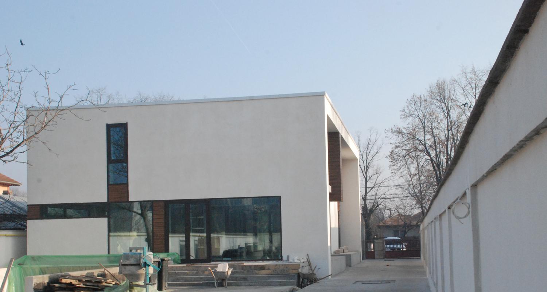 en locuinte moderne finalizate lucrare finalizata casa moderna cod caa fin alexandria proiect din portofoliul cub - Casa Cub Moderne