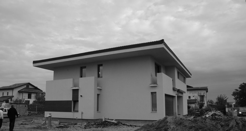 Case moderne Lucrare finalizata casa moderna cod ASO Fin Otopeni Ilfov proiect din portofoliul CUB Architecture