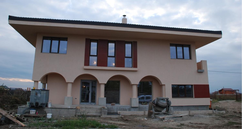 Case moderne lucrare finalizata casa moderna cod aso fin for Mp arredamenti