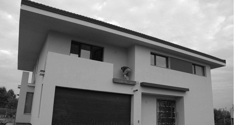 Lucrare finalizata casa moderna cod ASO Fin Otopeni Ilfov proiect din portofoliul CUB Architecture
