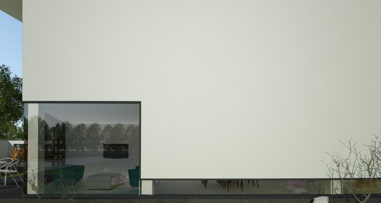 Proiect Casa Minimalista | Concept Design casa pe teren ingust cod DDR in Sibiu | Proiect din portofoliul CUB Architecture