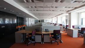 Amenajare Spatiu Birouri Oracle Romania | Lucrare Finalizata office planning Oracle Romania in Nusco Tower Business Center Bucuresti | Lucrare din portofoliul CUB Architecture