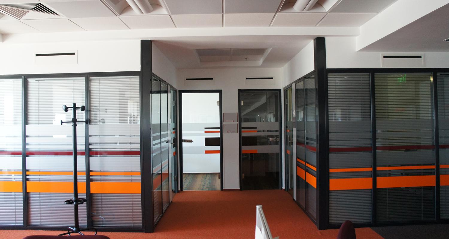 Office planning for Oracle Romania - CUB Architecture portfolio