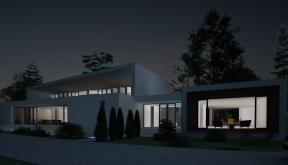 Proiect Casa Bifamiliala in Erbil, Irak | Concept Design casa moderna cod KNI in Erbil, Irak | Proiect din portofoliul CUB Architecture