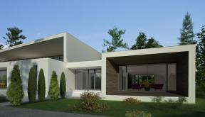 Proiect Casa Bifamiliala Moderna  in Erbil, Irak | Concept Design casa moderna cod KNI in Erbil, Irak | Proiect din portofoliul CUB Architecture