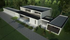 Proiect Locuinta Bifamiliala Moderna  in Erbil, Irak | Concept Design casa moderna cod KNI in Erbil, Irak | Proiect din portofoliul CUB Architecture