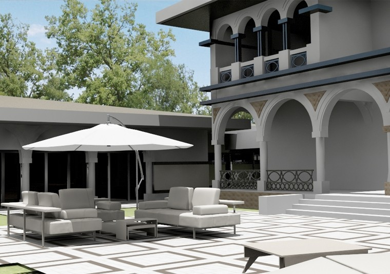 Neo romanian style residence in slobozia il project - Romanian architectural styles ...