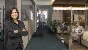 Proiect Amenajare Spatiu Birouri Sanofi Aventis | Proiectare finalizata office planning Sanofi Aventis in Izvor BC, Bucuresti cod SANO | Lucrare din portofoliul CUB Architecture