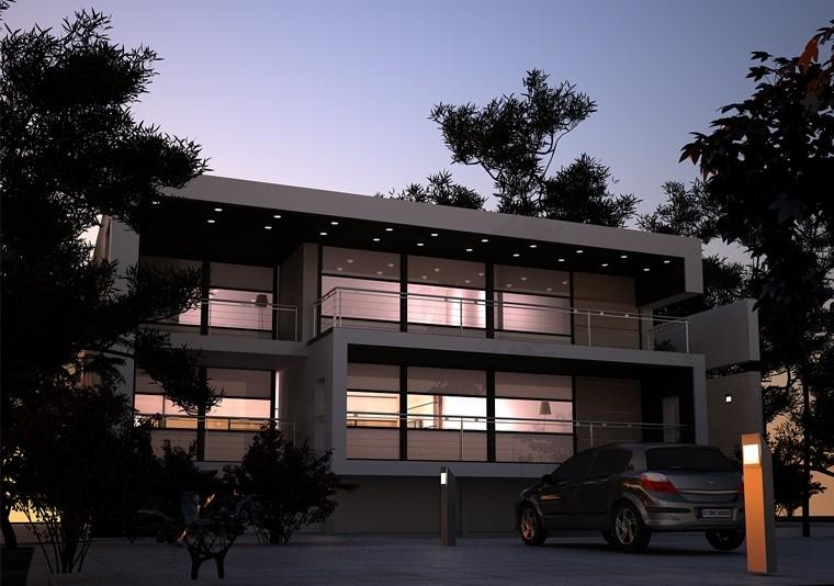 Proiect Locuinta Moderna | Concept Design casa moderna minimalista cod DDS Siubiu - proiect din portofoliul CUB Architecture