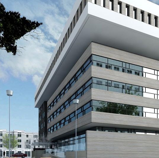 Proiect Imobil Cladire de Birouri Brasov, BV | Concept Design imobil de birouri modern cod OFBV in Brasov | Proiect din portofoliul CUB Architecture