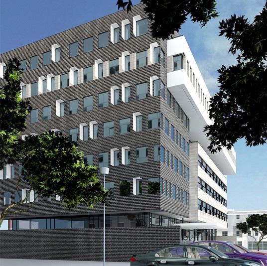 Proiect Imobil Cladire de Birouri Brasov | Concept Design imobil de birouri cod OFBV in Brasov | Proiect din portofoliul CUB Architecture