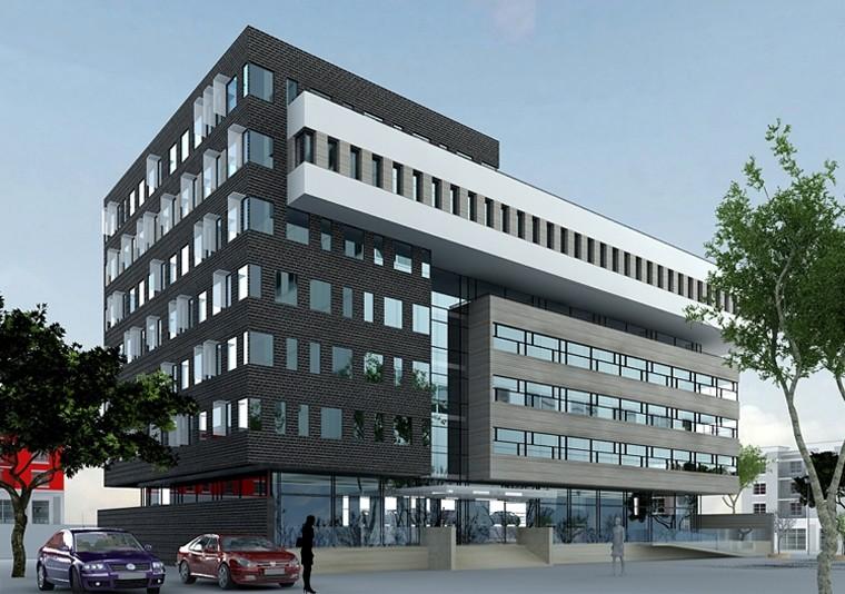 Proiect Imobil Cladire de Birouri Brasov | Concept Design imobil de birouri modern cod OFBV in Brasov | Proiect din portofoliul CUB Architecture