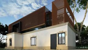 Proiect Consolidare si Supraetajare Casa Existenta casa moderna cod CSA Targu Jiu Gorj