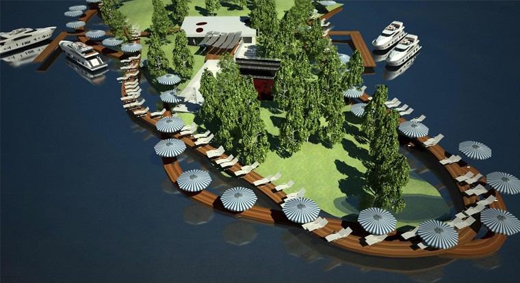 Proiect Centru Turistic Multifunctional Snagov | Concept Design Amenajare de teren si faleza lacului, cu activitati conexe, sportive si de recreere in Centru Turistic Multifunctional Snagov cod CTMS | Proiect din portofoliul CUB Architecture