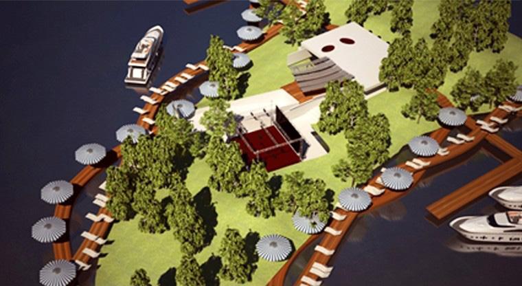 Proiect Centru Turistic Multifunctional Snagov | Concept Design Amenajare de teren si faleza lacului, cu activitati sportive si de recreere in Centru Turistic Multifunctional cod CTMS | Proiect din portofoliul CUB Architecture