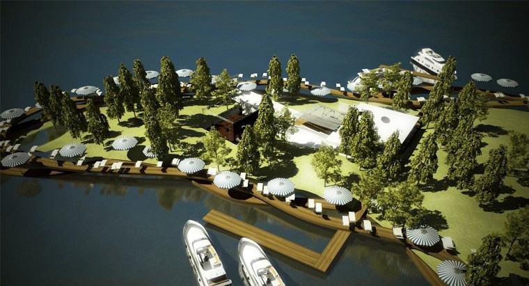 Proiect Centru Turistic Multifunctional Snagov, Ilfov | Concept Design Amenajare de teren si faleza lacului, cu activitati conexe, sportive si de recreere in Centru Turistic Multifunctional Snagov cod CTMS | Proiect din portofoliul CUB Architecture