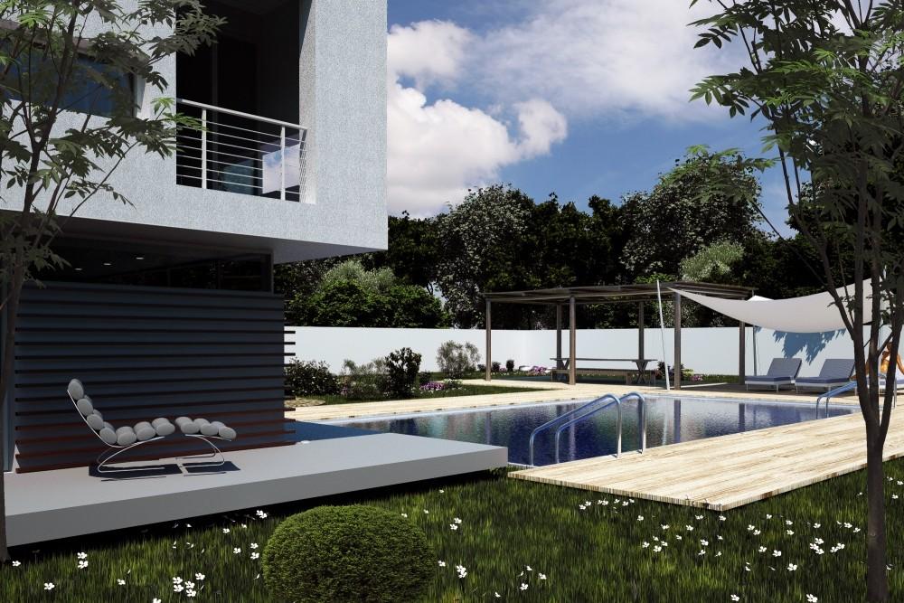 Proiect Locuinta Moderna si piscina cod VBV Vaslui