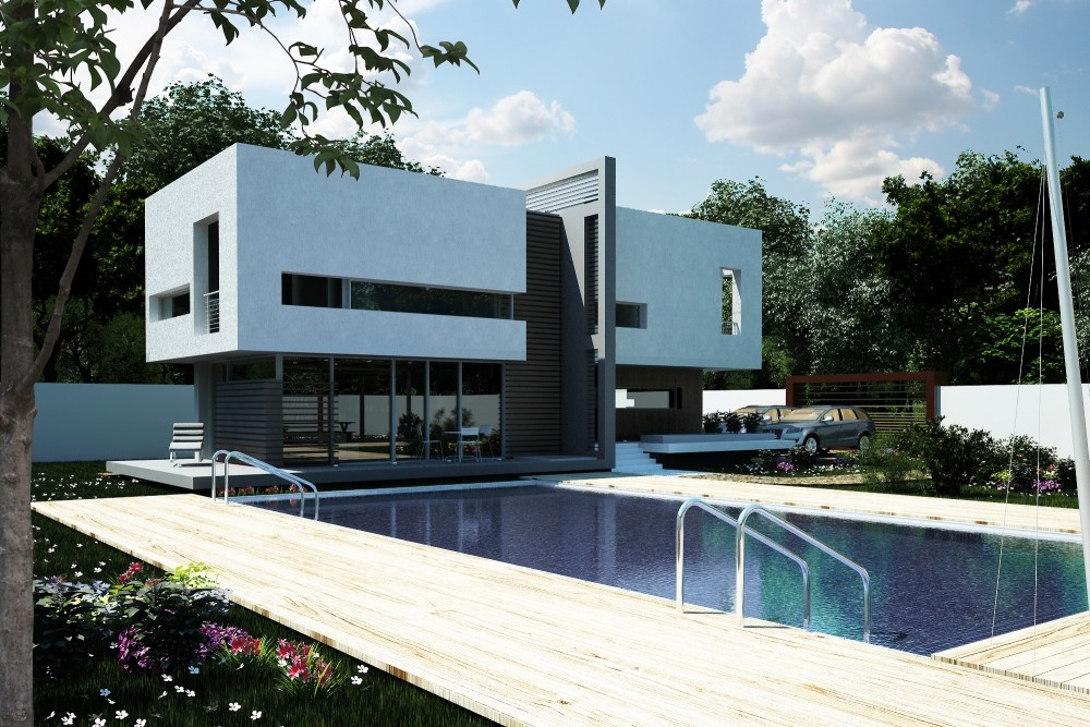 Pool House in Vaslui, VS - project from CUB Architecture portfolio