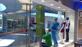 Amenajare Magazin Adidas in Atrium Mall Arad