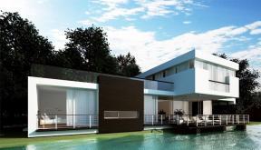 Proiect Locuinta Moderna casa pe malul lacului Crevedia Dambovita
